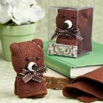 Adorable Bear Towel Favour